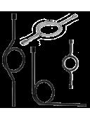 Трубка сифонная (Перкинса) прямая, угловая