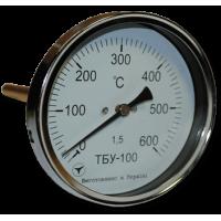 Термометр биметаллический осевой ТБУ-100 (ТБУ 100, ТБУ100, ТБ-100, ТБ 100, ТБ100, ТБП)