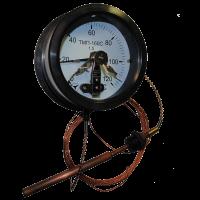 Термометр манометрический  сигнализирующий ТМП-160С (ТМП160-С, ТМП 160С, ТМП160С)