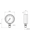 Напоромер МТ-3Н (МТ 3Н, МТ3Н, МТ3-Н)