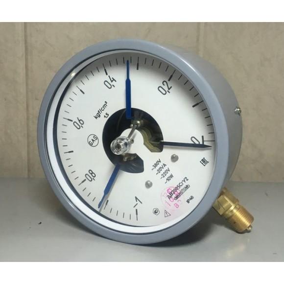 Вакуумметр электроконтактный ДВ2005Сг (ДВ-2005Сг, ДВ 2005Сг, ДВ2005-Сг)