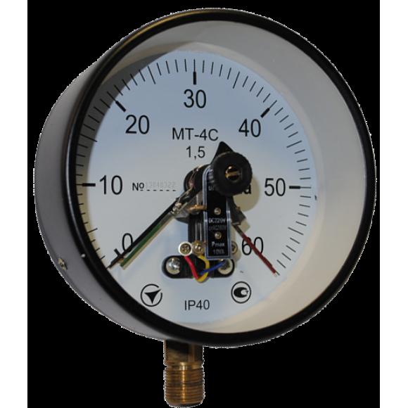Мановакуумметр электроконтактный МТ-4С (МТ 4С, МТ4С, МТ4-С)