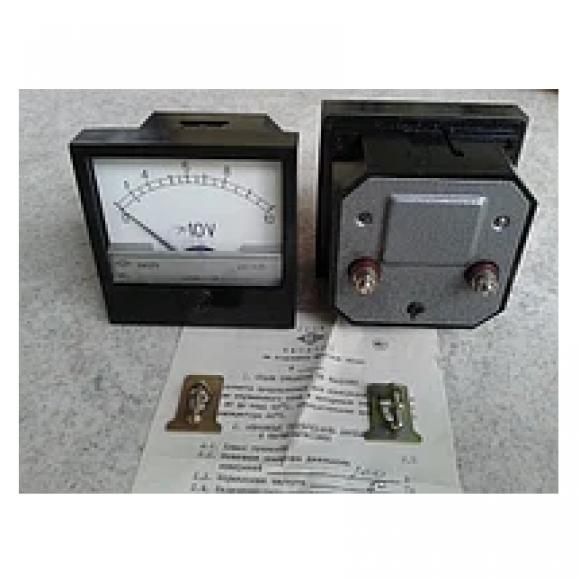 Амперметр и вольтметр щитовой переменного тока