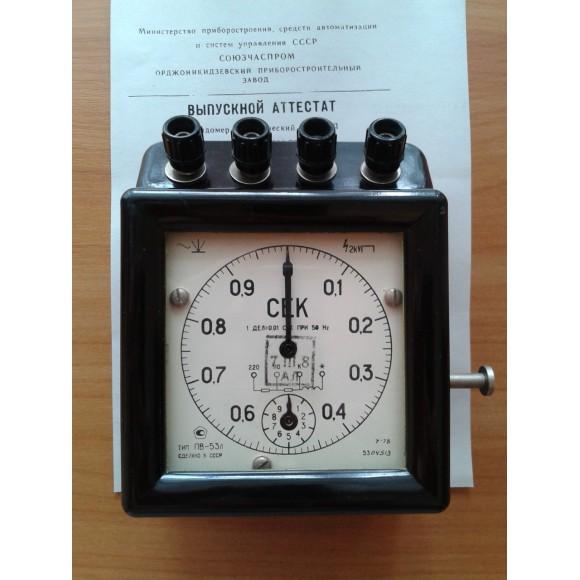 Секундомер электрический лабораторный ПВ-53Л (ПВ-53 Л, ПВ53Л, ПВ 53Л, ПВ-53, ПВ53, ПВ 53)
