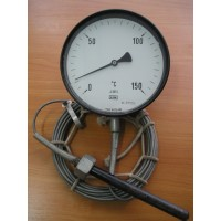 Термометр манометрический КFM (диаметр 160мм) 0+150С