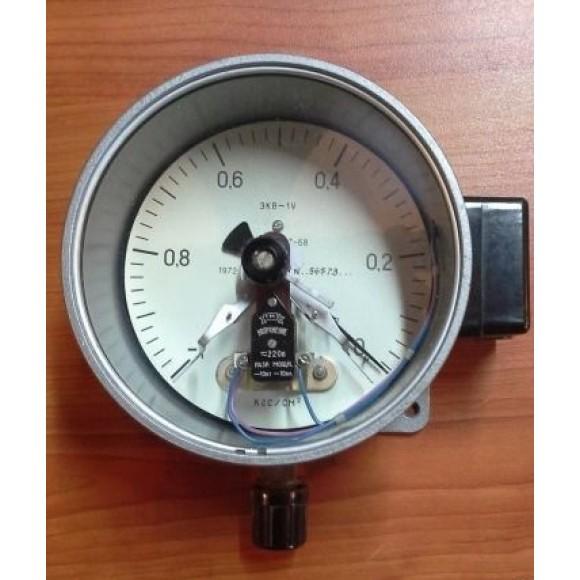 Вакуумметр электроконтактный ЭКВ-1У (ЭКВ, ЭКВ-160, ЭКВ 1У, ЭКВ1-У)
