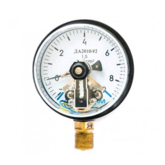 Мановакуумметр электроконтактный  ДА2010-У2 (ДА 2010-У2, ДА2010У2, ДА2010, ДА-2010)