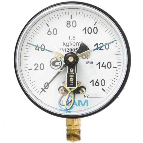 Манометр электроконтактный ДМ2005-У2 (ДМ 2005-У2, ДМ2005У2, ДМ2005, ДМ-2005)