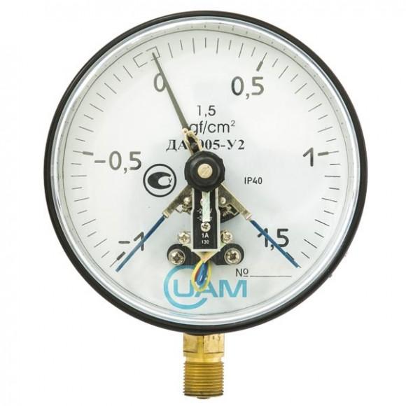 Мановакуумметр электроконтактный  ДА2005-У2 (ДА 2005-У2, ДА2005У2, ДА2005, ДА-2005)