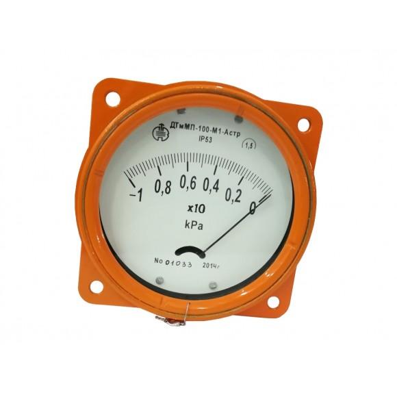 Дифманометр-тягомер ДТмМП-100, ДТмМПКр-100 (ДТмМП-100У3, ДТмМП-100-М1, ДТмМП-100-М2)