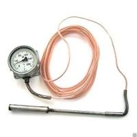 Термометр манометрический ТКП-100, ТКП-100-М1 (ТКП 100, ТКП100, ТКП100-М1, ТКП100М1)