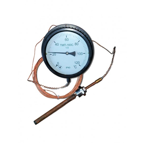 Термометр манометрический  показывающий ТМП-160 (ТМП 160, ТМП160)