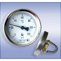 Термометр биметаллический трубный ТБТ-63 (ТБТ, ТБТ 63, ТБТ63, ТБТ-063)