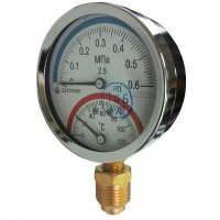 Термоманометр радиальный ДМТ 05080 (ДМТ, ДМТ-05080, ДМТ05080)