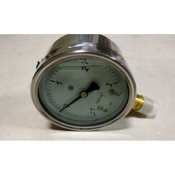 Мановакуумметр виброустойчивый (глицериновый) МТ-3У-А (МТ-3У, МТ-3У-Ву, МТ-3УВу, МТ-3Ву)-радиальный штуцер (РШ)