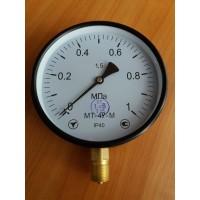 Манометр показывающий МТ-4У-М (МТ-4У, МТ 4У, МТ4У, МТ4-У) - радиальный штуцер (РШ)