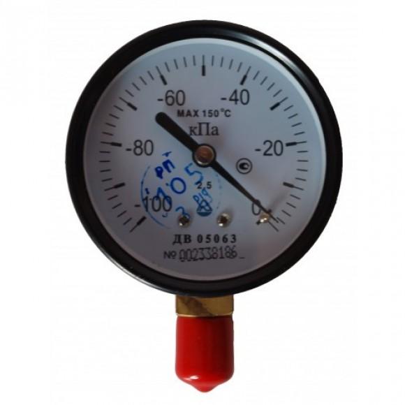 Вакуумметр показывающий ДВ 05063 (ДВ05063, ДВ-05063, ДВ 05-01, ДВ 05) - радиальный штуцер (РШ)