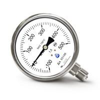 Мановакуумметр показывающий ДА 05100-07М (ДА 05100, ДА05100, ДА-05100, ДА 05-07) - радиальный штуцер (РШ)