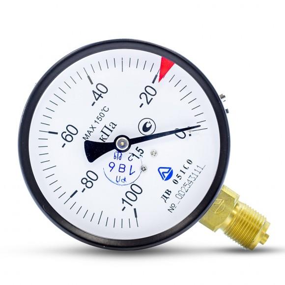 Вакуумметр показывающий ДВ 05160-01М (ДВ 05160, ДВ05160, ДВ-05160, ДВ 05-01) - радиальный штуцер (РШ)