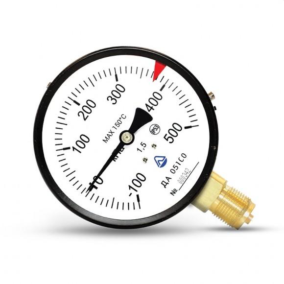 Мановакуумметр показывающий ДА 05160-01М (ДА 05160, ДА05160, ДА-05160, ДА 05-01) - радиальный штуцер (РШ)