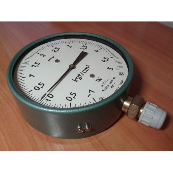 Мановакуумметр точных измерений МТИ, МВТИ, МВТИ-160 (МТИ-1216, МТИ 1216, МТИ-1218, МТИ 1218)