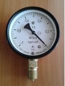 Вакуумметр показывающий ВП3-У (ВП-3У, ВП3У, ВП 3У) - радиальный штуцер (РШ)