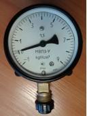 Мановакуумметр показывающий МВП3-У (МВП-3У, МВП3У, МВП 3У) - радиальный штуцер (РШ)