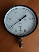 Манометр показывающий МП4-У (МП-4У, МП4У, МП 4У) - радиальный штуцер (РШ)