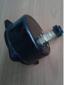 Вакуумметр показывающий ВП3-У ФОШ (ВП-3У, ВП3У, ВП 3У) - осевой штуцер (ОШ), с фланцем