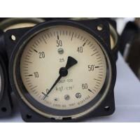 Манометр показывающий МОШ1-100 (МОШ-1-100, МОШ, МОШ100, МОШ 100) - осевой штуцер (ОШ)