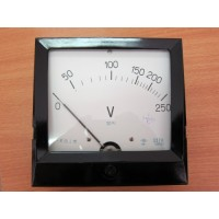 Вольтметр щитовой переменного тока Э378 (Э-378, Э 378, Е378, Е-378, Е 378)