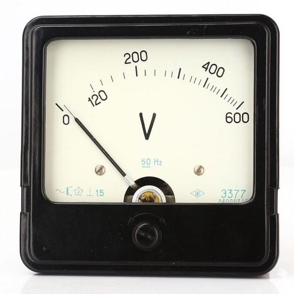 Вольтметр щитовой переменного тока Э377 (Э-377, Э 377, Е377, Е-377, Е 377)