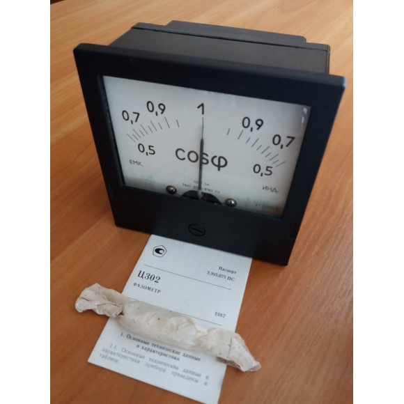 Фазометр однофазный Ц302 и Ц302-М1 (Ц-302, Ц 302, Ц-302-М1, Ц 302-М1, Ц302М1)