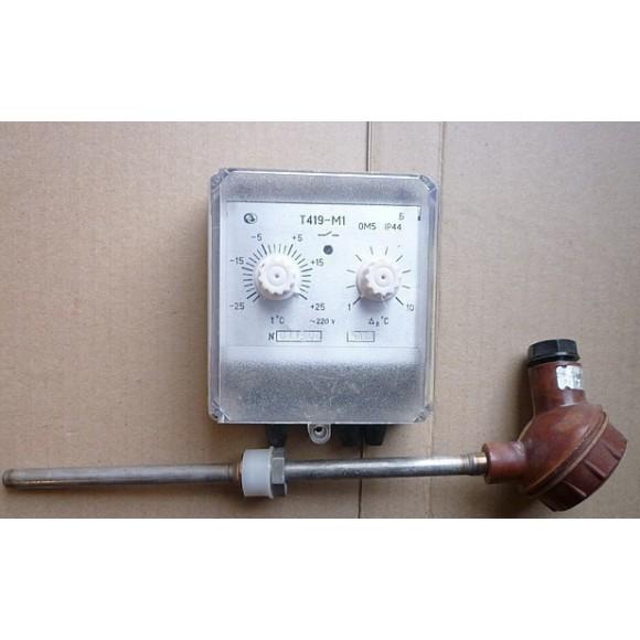 Датчик-реле температуры электронный Т419-М1 (Т419, Т-419, Т 419, Т-419-М1, Т 419-М1, Т419М1)