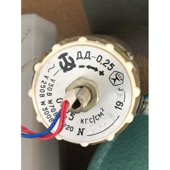 Датчик-реле давления ДД-0,25 (ДД; ДД 0,25; ДД-0.25; ДД 0.25, ДД-025; ДД 025)