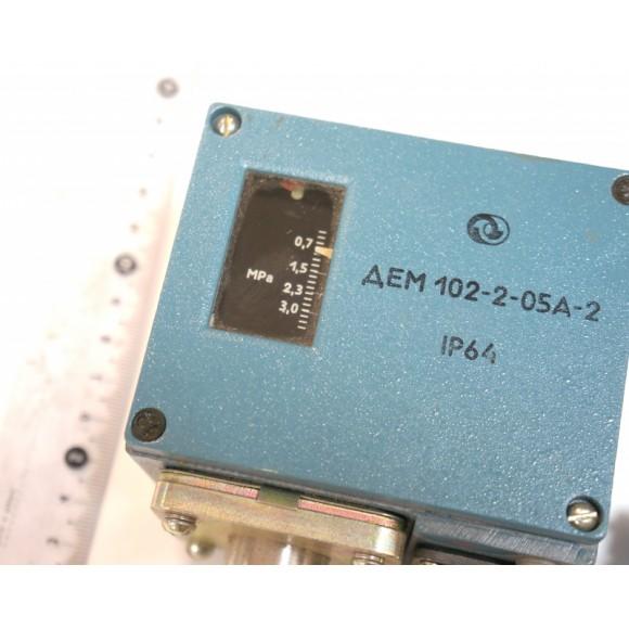 Датчик-реле давления ДЕМ 102-2-05А-2 (ДЕМ 102, ДЕМ102, ДЕМ-102, ДЕМ 102-2-05А, ДЕМ102-2-05А, ДЕМ-102-2-05А)