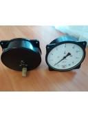Мановакуумметр МВТП-160 (МВТП 160, МВТП160, МВТП) - радиальный штуцер (РШ), осевой штуцер (ОШ), с фланцем