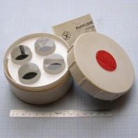 Пластина стеклянная, метрологическая ПМ-40 (ПМ40, ПМ 40, ПМ) - набор из 4 пластин