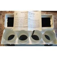 Пластина стеклянная, метрологическая ПМ-90 (ПМ90, ПМ 90, ПМ) - набор из 4 пластин
