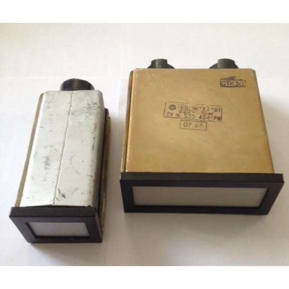 Табло сигнальное световое ТСМ, ТСБ, ТСС-М, ТСС-66М, ТСКЛ