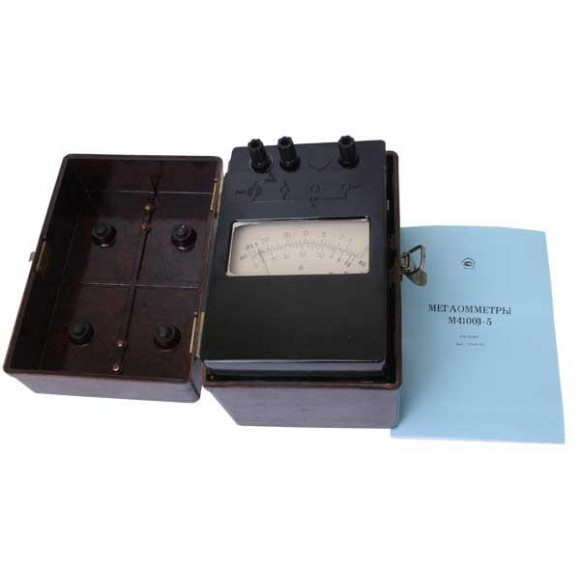 Мегаомметр М4100/2 (М4100/1-5, М-4100/2, М 4100/2, М4100, М-4100, М 4100)