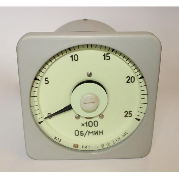 Тахометр (показывающий прибор тахометра)  ПИТ (ПИТ-1, ПИТ1, ПИТ 1, ТЭ-М1, ТЭМ1, ТЭ М1)